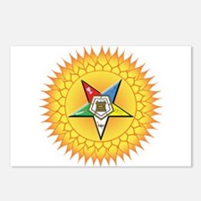 OES Star in the sun Postcards (Package of 8)