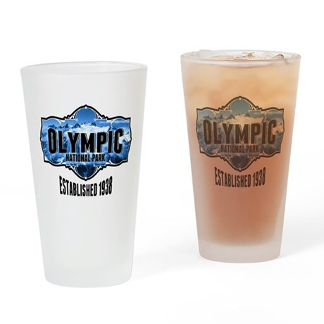 Olympic Ice Drinking Glass