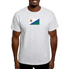 Lesotho Ash Grey T-Shirt