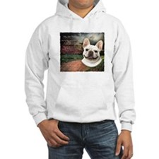 """""""Why God Made Dogs"""" French Bulldog Hoodie"""