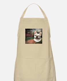 """Why God Made Dogs"" French Bulldog Apron"
