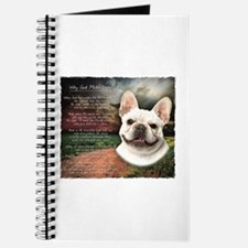 """Why God Made Dogs"" French Bulldog Journal"