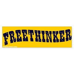 Freethinker Bumper Bumper Sticker