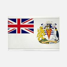 British Antarctic Territory Rectangle Magnet