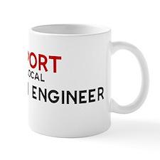 Support:  PETROLEUM ENGINEER Small Mug