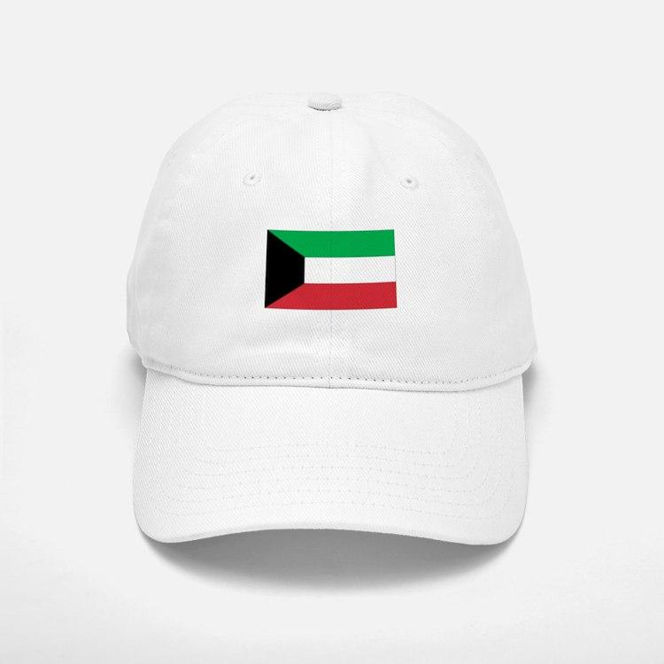 Kuwait Baseball Baseball Cap