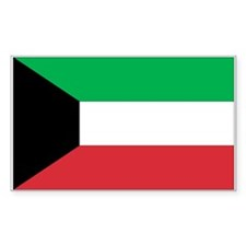 Kuwait Rectangle Decal