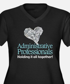 Administrative Professionals- Women's Plus Size V-