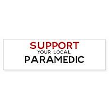 Support: PARAMEDIC Bumper Bumper Sticker