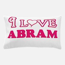 I Love Abram Pillow Case