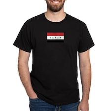 Iraq Black T-Shirt