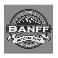Banff Natl Park Ansel Adams Tile Coaster