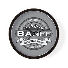 Banff Natl Park Ansel Adams Wall Clock
