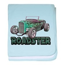 1932 Ford Roadster Green baby blanket