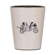 Belgian Bike Shot Glass