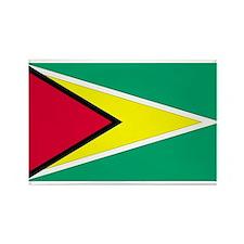 Guyana Rectangle Magnet