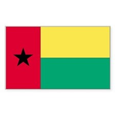 Guinea-Bissau Rectangle Decal