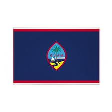 Guam Rectangle Magnet