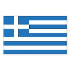 Greece Rectangle Decal