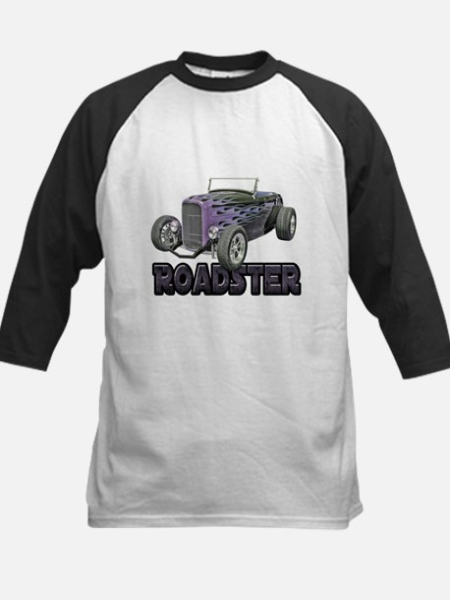 1932 Ford Roadster Grape Kids Baseball Jersey