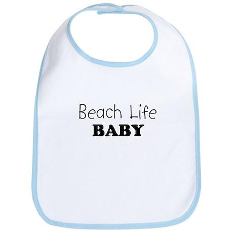 Beach Life Baby Bib