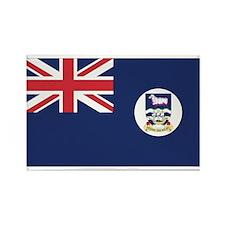 Falkland Islands Rectangle Magnet