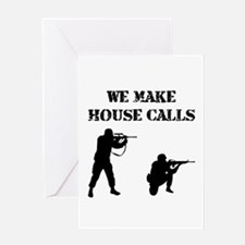 House Calls Greeting Card