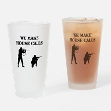 House Calls Drinking Glass