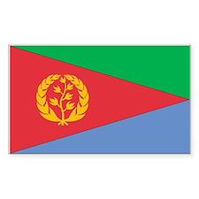 Eritrea Rectangle Decal