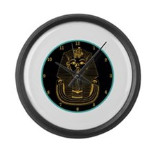 ClockWordArt Pharoah design Large Wall Clock