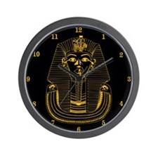ClockWordArt Pharoah design Wall Clock