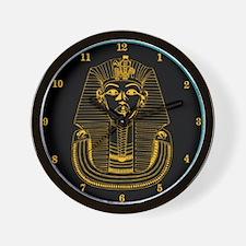 ClockWordArt Pharoah design Wall Clock