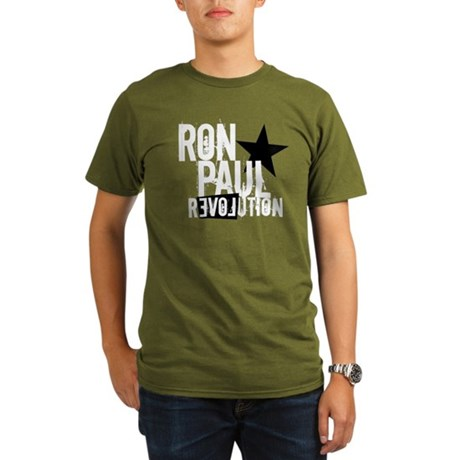 RonPaulBWStarRevolution T-Shirt