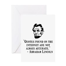 Lincoln Internet Greeting Card