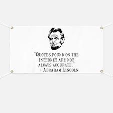 Lincoln Internet Banner