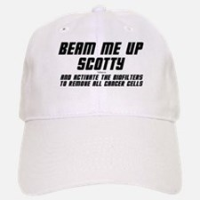 Beam Me Up Scotty Baseball Baseball Cap