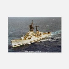 USS MORTON Rectangle Magnet