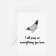 Poop On Love Greeting Card
