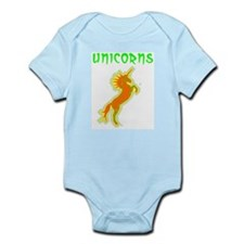 unicorns (or. & gr.) Infant Creeper