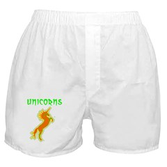 unicorns (or. & gr.) Boxer Shorts