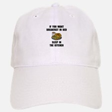 Sleep In Kitchen Baseball Baseball Cap
