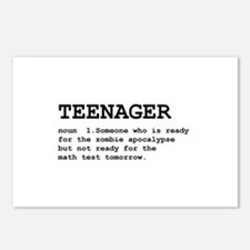 Teenager Postcards (Package of 8)