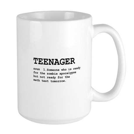 Teenager Large Mug