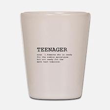 Teenager Shot Glass