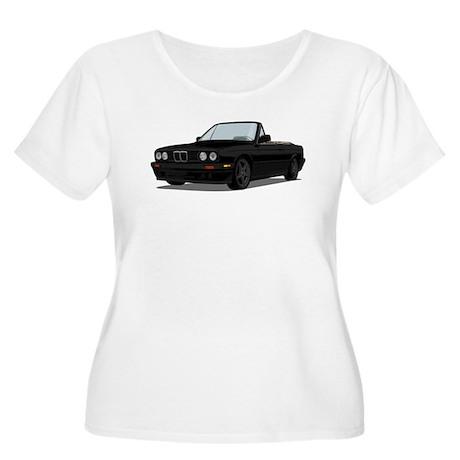 BMW E30 Convertible Women's Plus Size Scoop Neck T