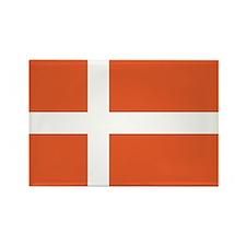Denmark Rectangle Magnet
