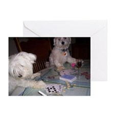 Poker Puppy Greeting Cards (Pk of 10)