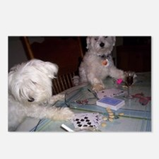 Poker Puppy Postcards (Package of 8)