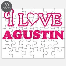 I Love Agustin Puzzle