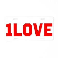Cute Liscence Aluminum License Plate